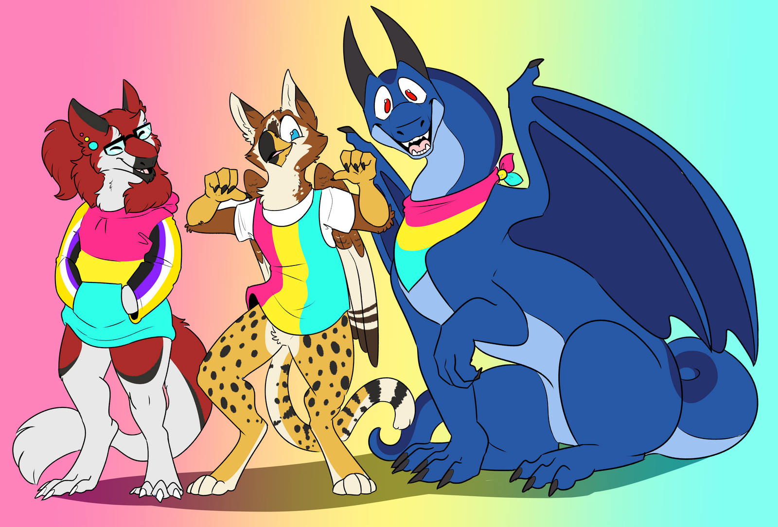 Pride month - Pan friends!